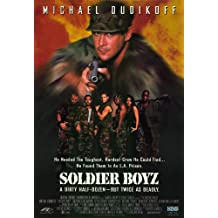 Soldier Boyz Poster Movie 11x17 Michael Dudikoff Cary-Hiroyuki Tagawa Tyrin Turner