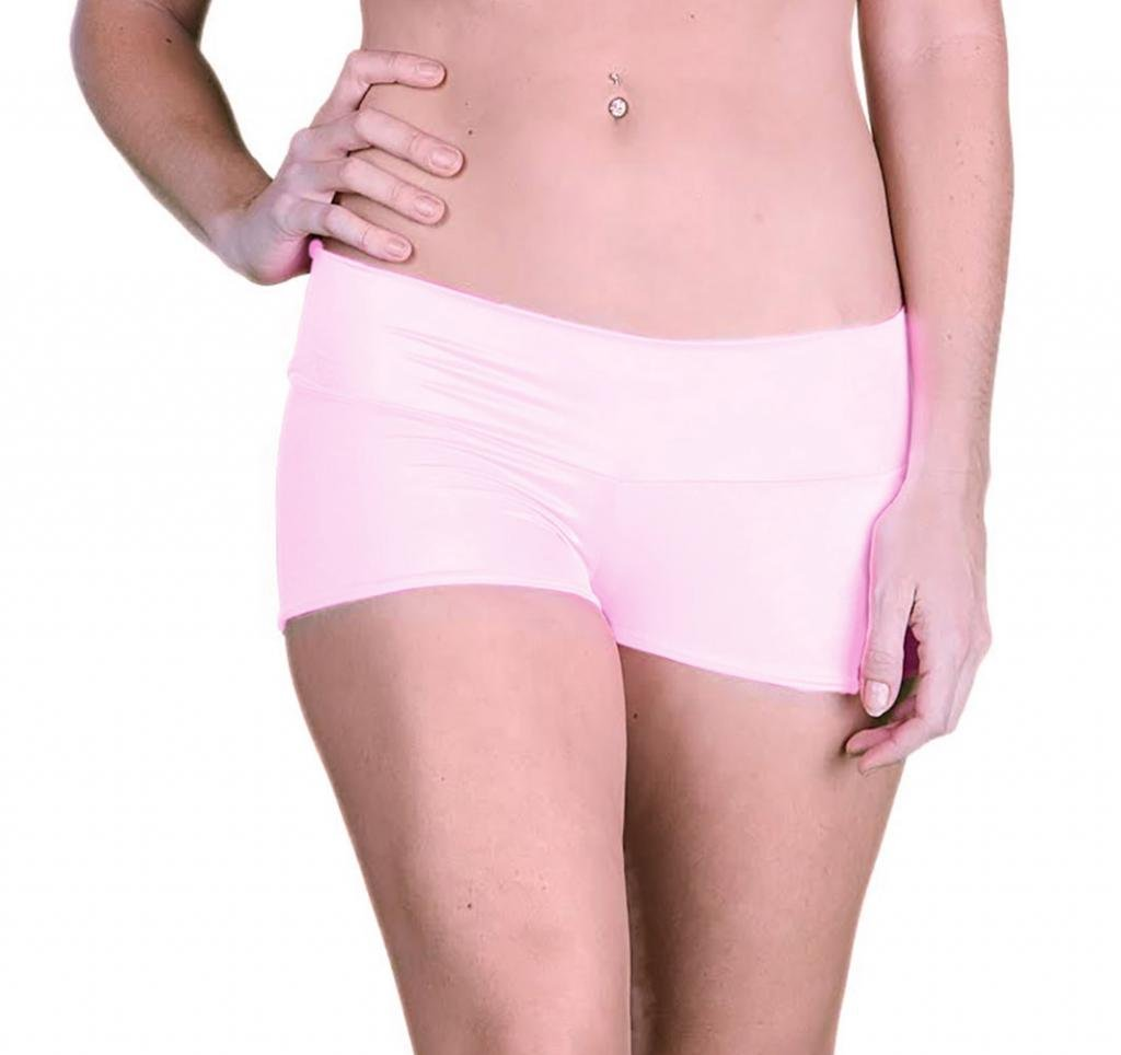 Delicate Illusions Classic Hot Shorts L (11-13) Baby Pink