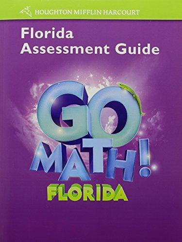 Houghton Mifflin Harcourt Math Florida: Assessment Guide Grade 3