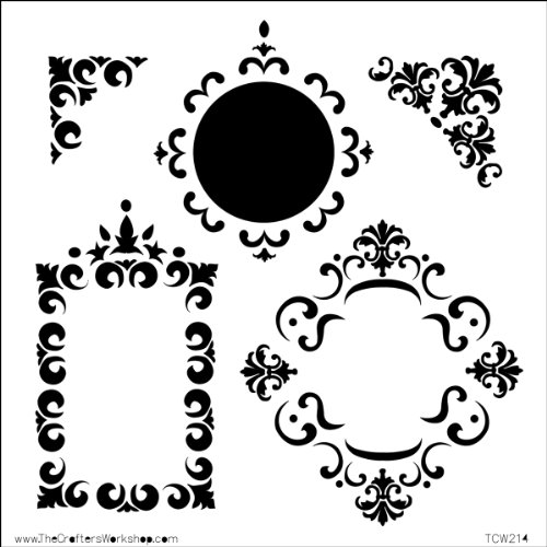 Stencil Frame (CRAFTERS WORKSHOP Templates 6