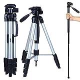 "Photo : Albott 70"" Travel Portable DSLR Camera Tripod Monopod Flexible Head for Canon Nikon with Carry Bag"