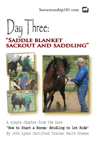 Day Three: Saddle Blanket Sack Out and Saddling (How to Start a Horse Book 3)