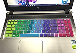 "Colorful Keyboard Cover For Hp Envy X360 15.6"" M6-w M6-p M6-ae M6-aq M6-ar, M6-w010dx W011dx M6-w101dx W102dx W154nr M6-p113dx P014dx M6-aq003dx Aq103dx Aq105dx M6-ar004dx(rainbow)"