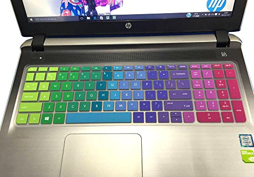 CaseBuy Colorful Silicone Keyboard Cover Skin for 15.6
