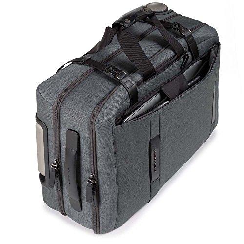 Piquadro Move2 Laptop Rollkoffer,  Grau (Grigio)