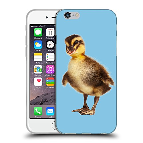 """GoGoMobile Coque de Protection TPU Silicone Case pour // Q05770609 caneton Bambina blu // Apple iPhone 6 4.7"""""""