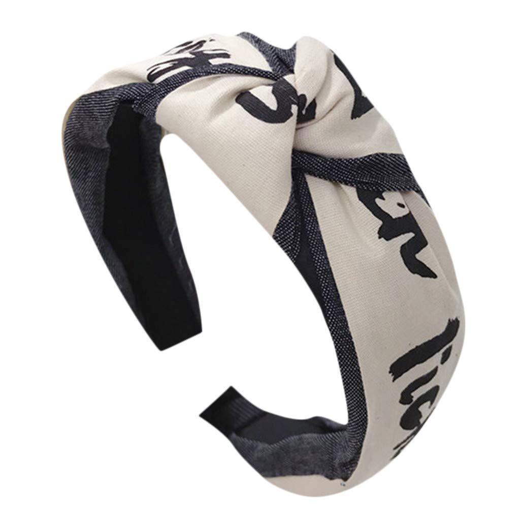 Polyester de Ancho Bandas para la Cabeza Nudos Turbante Diademas para Mujeres ni/ñas Diademas Mujer Diadema Nudo Mujer Muchos Colores