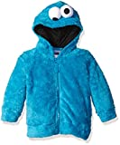 Freeze Kids Cookie Monster Sesame Street Faux Fur Unisex Fancy Dress Costume Hoodie 4T