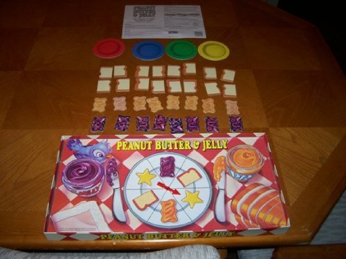 peanut butter jelly board game - 1