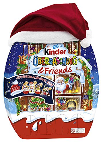 kinder berraschung und friends adventskalender 1er pack 1 x 431 g ebay. Black Bedroom Furniture Sets. Home Design Ideas