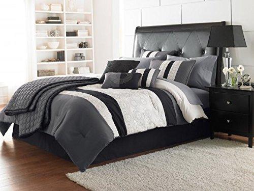 7-Piece Riverbrook Home 66619 Elsie Comforter Set King