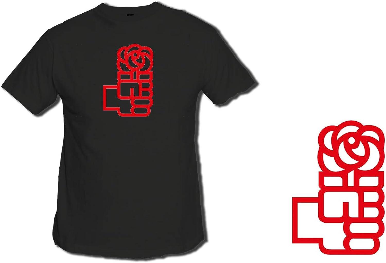MERCHANDMANIA Gorra Logo Partido SOCIALISTA PSOE Color Cap