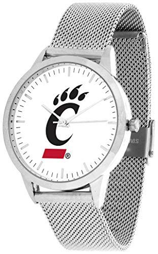 Cincinnati Bearcats - Mesh Statement Watch - Silver Band