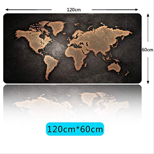 OLUYNG mouse pad Store New Hot Small And Large Super World Map Office Gaming Mouse Pad Speed Computer Laptop Mouse Pad…