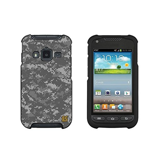 Spots8® for Samsung Galaxy Rugby Pro Slim Fit Case - Military Complex (Case Galaxy Rugby Samsung)