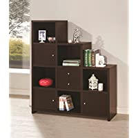 Coaster Home Furnishings 801170 Bookcase, Cappuccino