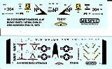 CAMMS72017 1:72 MilSpec Decals - A-4F Skyhawk VA-212 Rampart Raiders USS Hancock 1973 [WATERSLIDE DECAL SHEET]