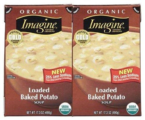 Imagine Organic Loaded Baked Potato Soup - 17.3 oz - 2 pk