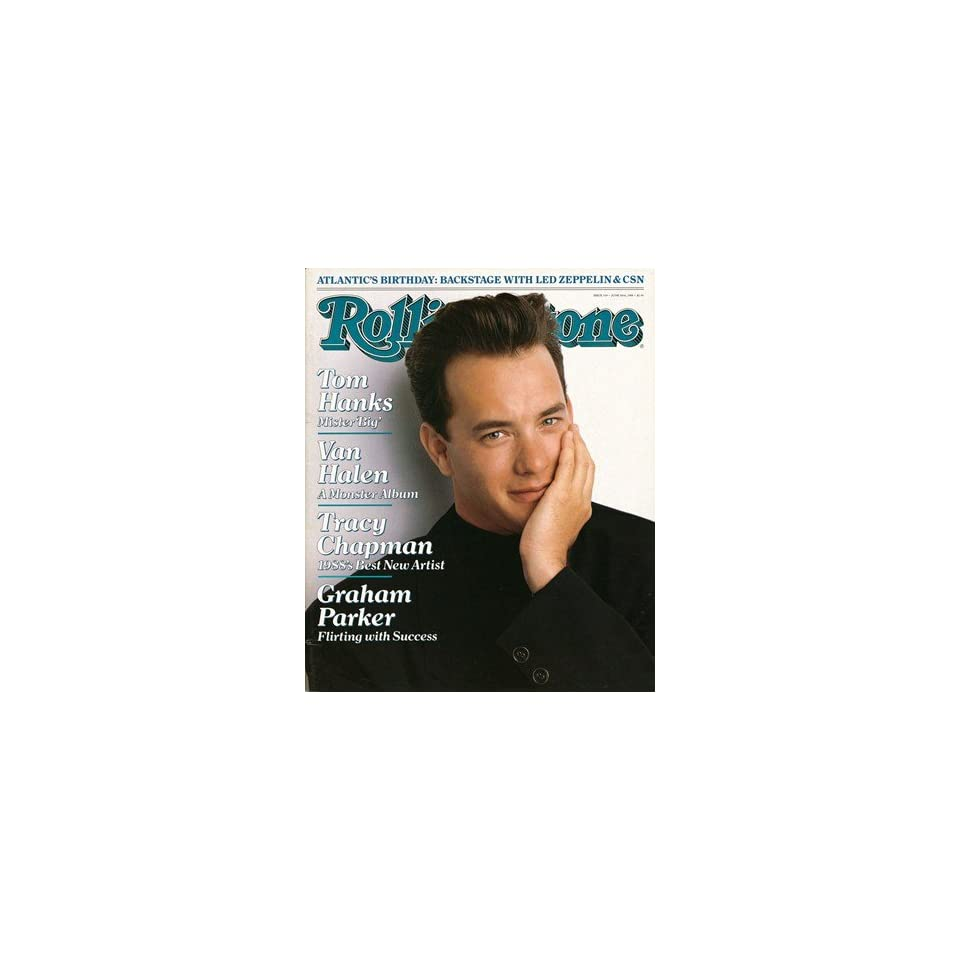 Tom Hanks, 1988 Rolling Stone Cover Poster by Herb Ritts (9.00 x 11.00)