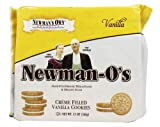 Newman's Own Organics - Newman's O's Creme Filled Vanilla Cookies Vanilla - 8 oz. (pack of 2)