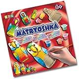 KSG 1046 - Arts and Crafts Matryoshka, juego de decoración de matrioska, diseño de loro