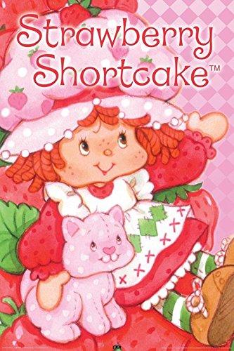 Buyartforless Strawberry Shortcake and Custard 36x24 Art Print Poster Wall Decor Girls Room Cute Sweet The World of Strawberry (Strawberry Shortcake Poster)