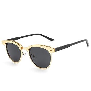 FKSW Gafas De Sol Gafas De Sol Polarizadas para Hombres Gafas De Sol Negras Gafas De