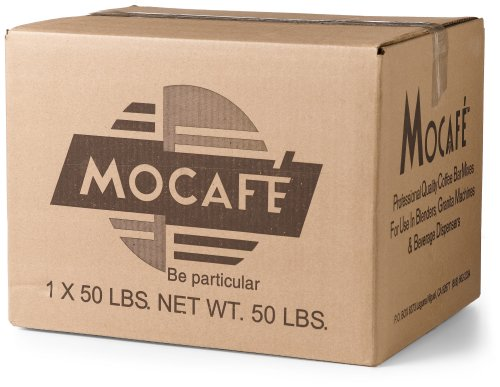 MOCAFE Madagascar Vanilla Non-Dairy Smoothie Mix, 50 Pound Box (Label Private Signature)