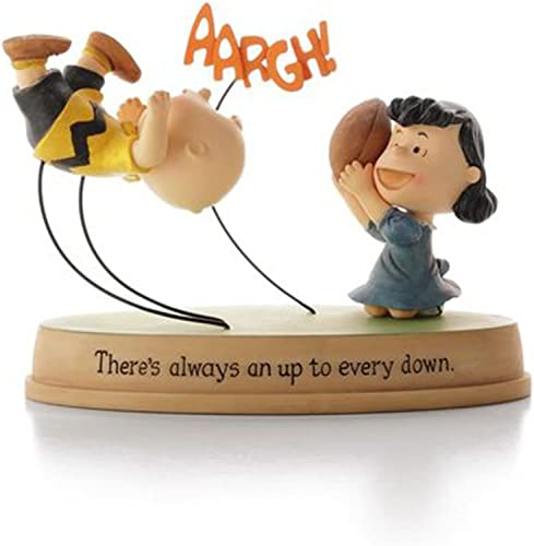 Hallmark Peanuts PAJ1129 Up and Down Lucy and Charlie Brown Figurine