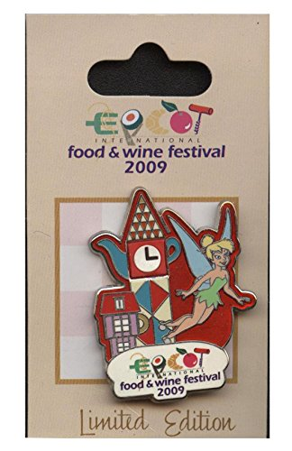 Disney Pin - Epcot Food and Wine Festival 2009 - Tinker Bell - LE Pin 73224