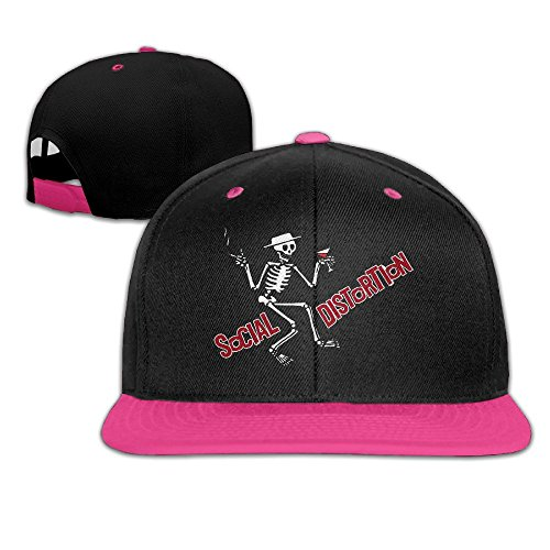HIPHOP Men And Women Adjustable MDLWW Social Distortion Hats (Social Distortion Guitar)