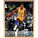 Magic Johnson Los Angeles Lakers Autographed Spotlight 8x10 Photo - Authentic Autographed Autograph