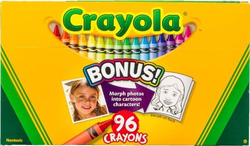 Crayola 52-0096 96 Count Crayon Box With New Specialty Crayo