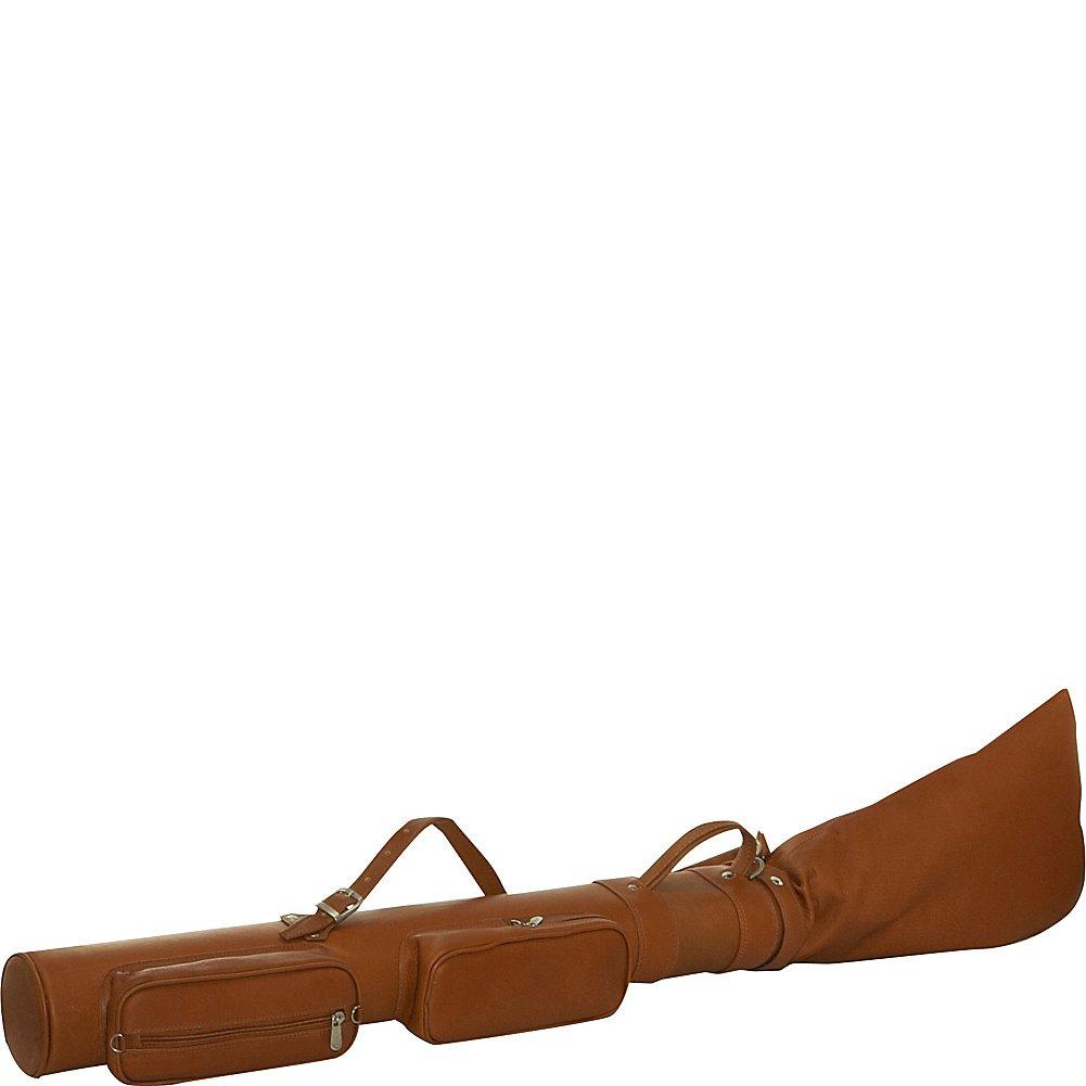 6e16de88fb39 Piel Leather Executive Golf Travel Bag, Saddle