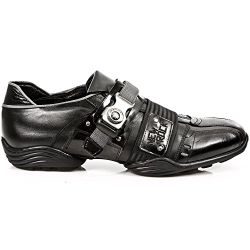 Black Sneaker M Rock s1 8147 Uomo Nero New 8I0q5nxq