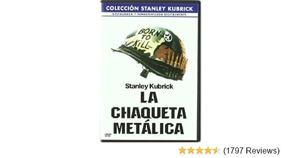 Amazon.com: La Chaqueta Metálica (Stanley Kubrick Collection) (Import Movie) (European Format - Zone 2) (2001) Matthew: Movies & TV