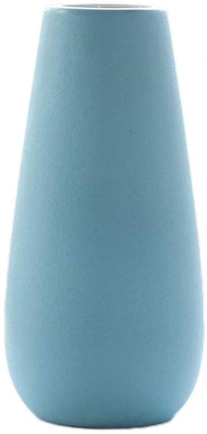 HZYDD Jarrones Sólido de Color florero, 7 Colores del Centro de ...