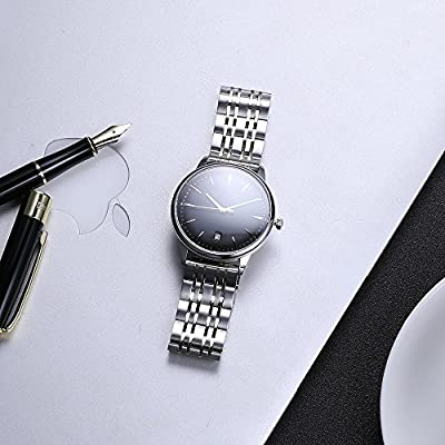 Watch Band Stainless Steel Metal 22mm 20mm 18mm iStrap Replacement Bracelet Strap for Men's Women's Watch