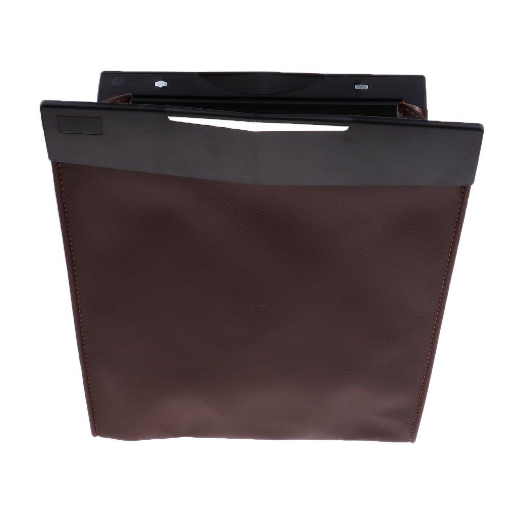 Baoblaze Brand New Durable Car Back Seat Organizer Travel Storage Pocket Holder - Brown