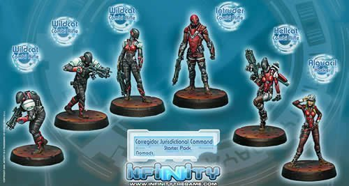 Corregidor Jurisdictional Command (6) Nomads Infinity for sale  Delivered anywhere in USA