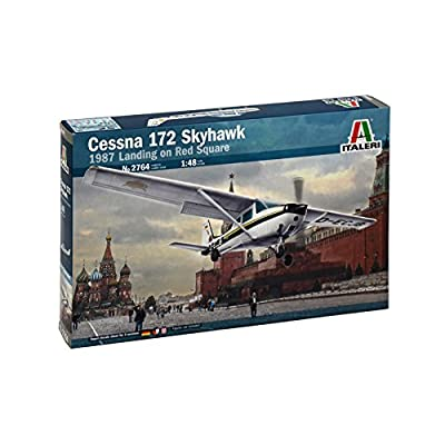 Italeri 1: 48 2764 Cessna 172 Skyhawk II, Vehicles: Toys & Games
