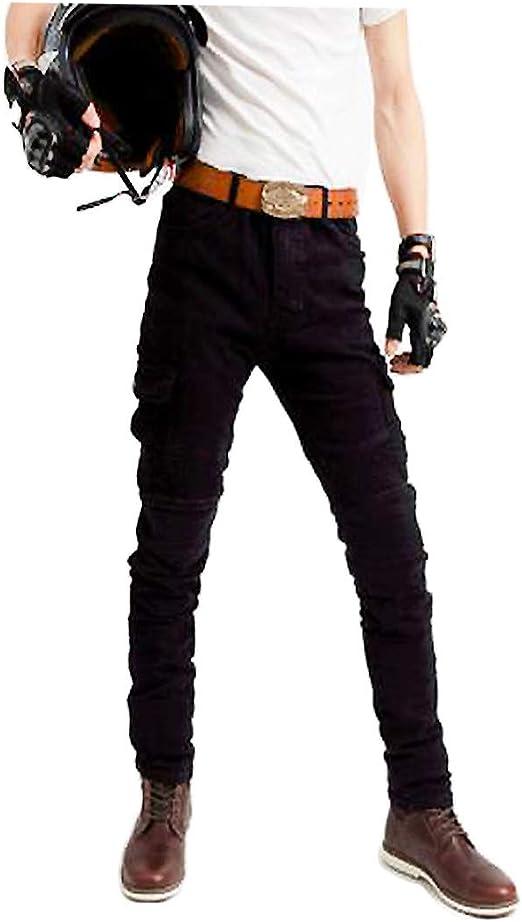 屋外モトクロスジーンズサイクリングパンツドロップ保護ジーンズ男性