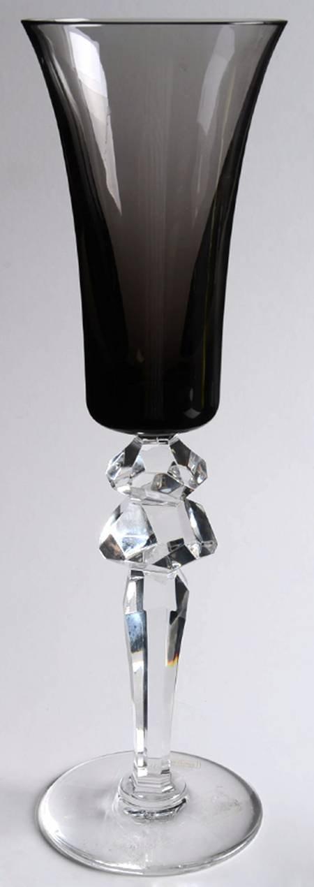 サンルイ エクセス シャンパンフルートグラス グレー [並行輸入品] B00F2CJ3WM