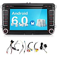 2G 32G 7 Inch Quad Core android 6.0 Kit Kat HD 1024x600 Double 2 Din in Dash Radio For Polo Golf Passat B6 B7 Jetta Tiguan Touran