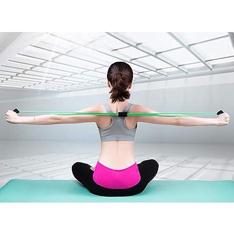 Fcostume - Cuerda elástica de látex para entrenamiento de ...