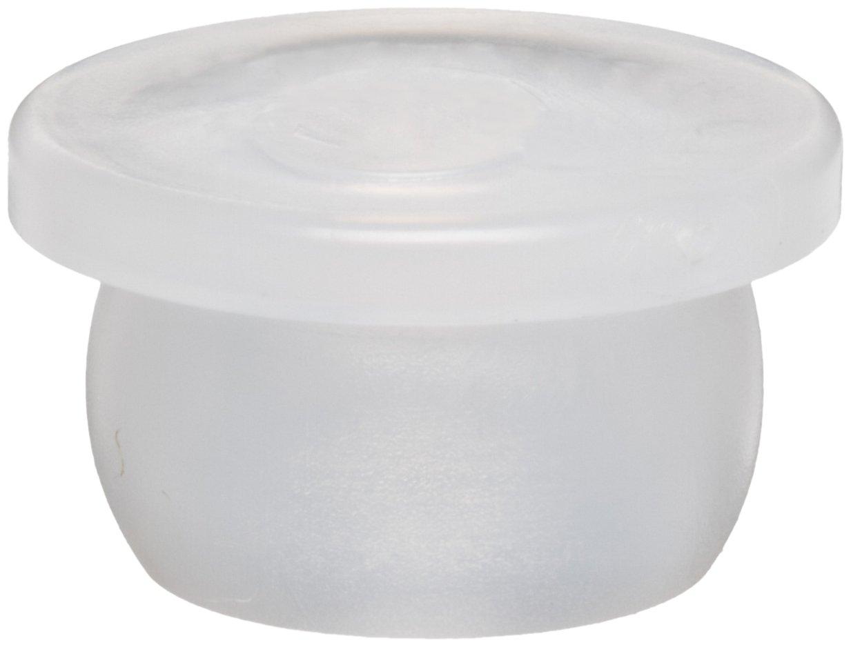 Kapsto 300 F 091 Polyethylene Closure Plug, Natural, 16 mm Tube OD (Pack of 100)