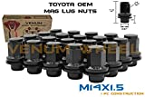 20 Pc Toyota & Lexus OEM Black Factory Lug Nuts Mag M14x1.5 Fits: Tundra Sequioa Land Cruiser LX 470 LX 570