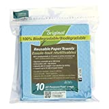 The Original Reusable Paper Towels-All Purpose, 10 Count