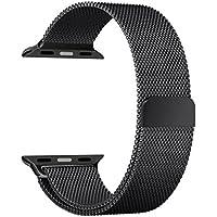 Pulseira Aço Loop Metal Para Apple Watch - Preto 42mm