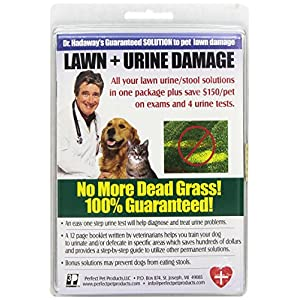 Lawn Disease + Urine Damage to Lawn Test Kit-Guaranteed Solutions to Brown Spots from Dog's Urine Killing The Grass